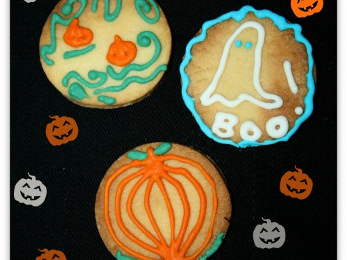Biscotti di Halloween, Ricetta dolce
