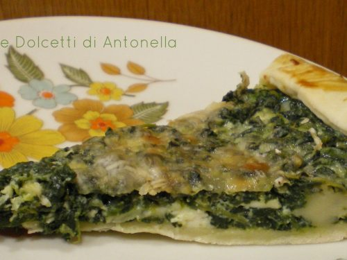 Pasta sfoglia con ricotta e spinaci, Ricetta facile