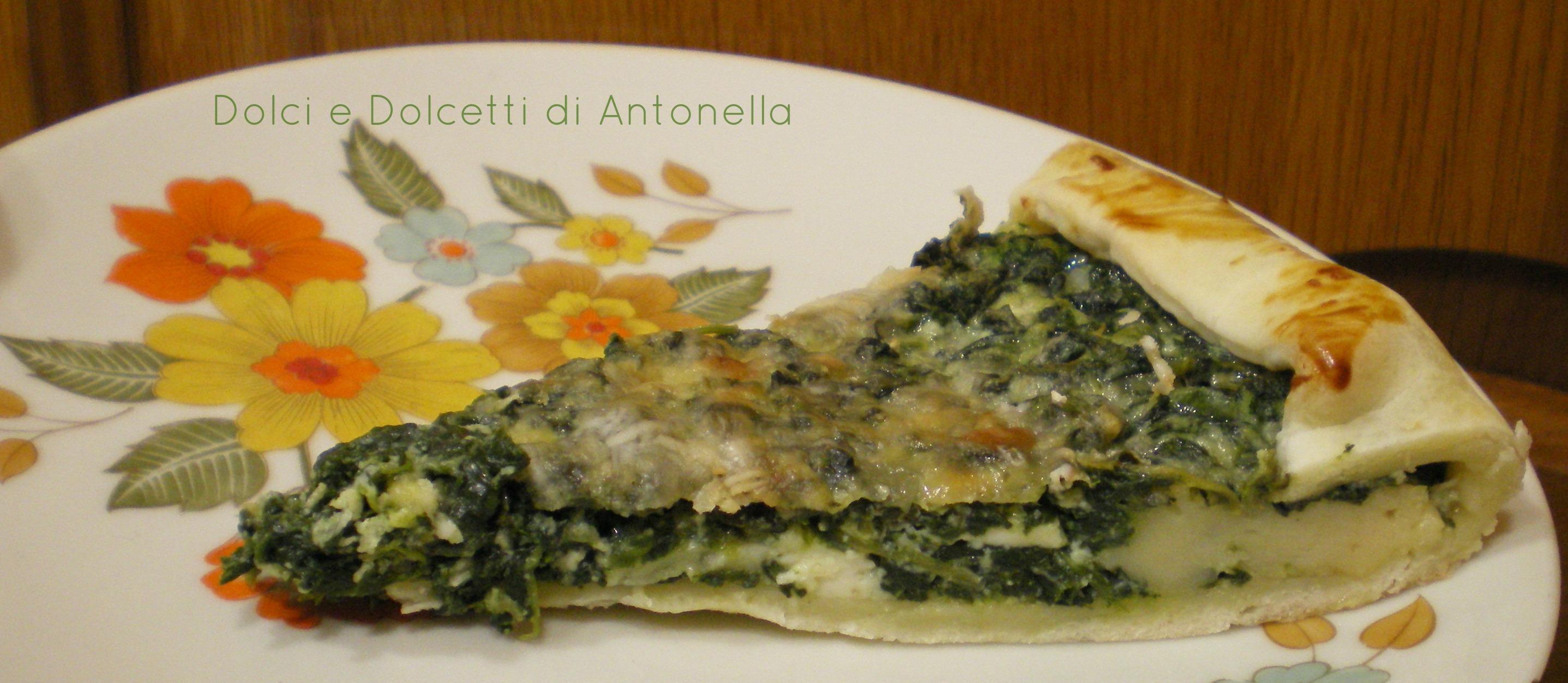 pasta sfoglia ricotta spinaci dolci e dolcetti di antonella