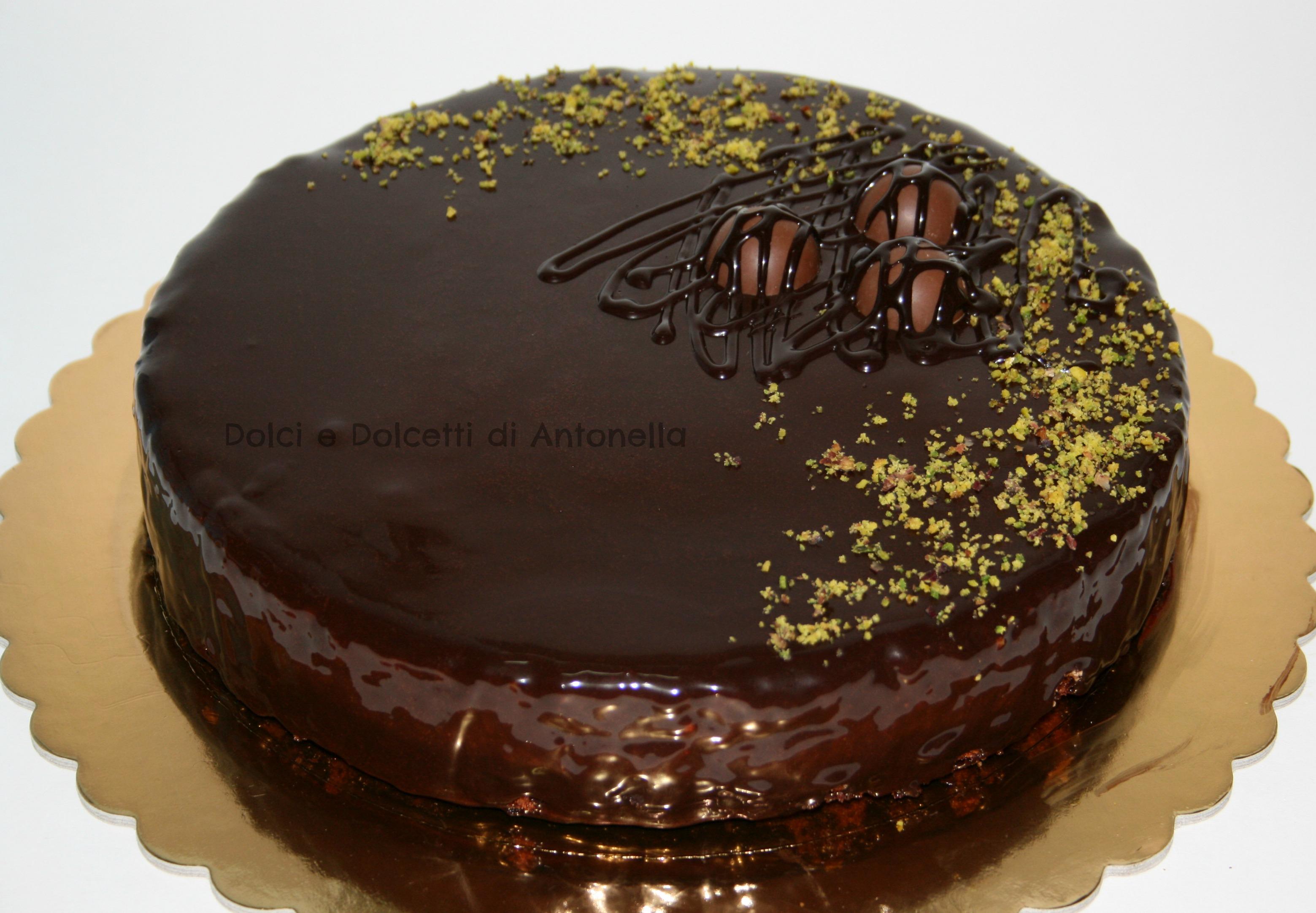 Glassa a specchio ricetta cioccolato dolci e dolcetti - Decorazioni torte con glassa ...