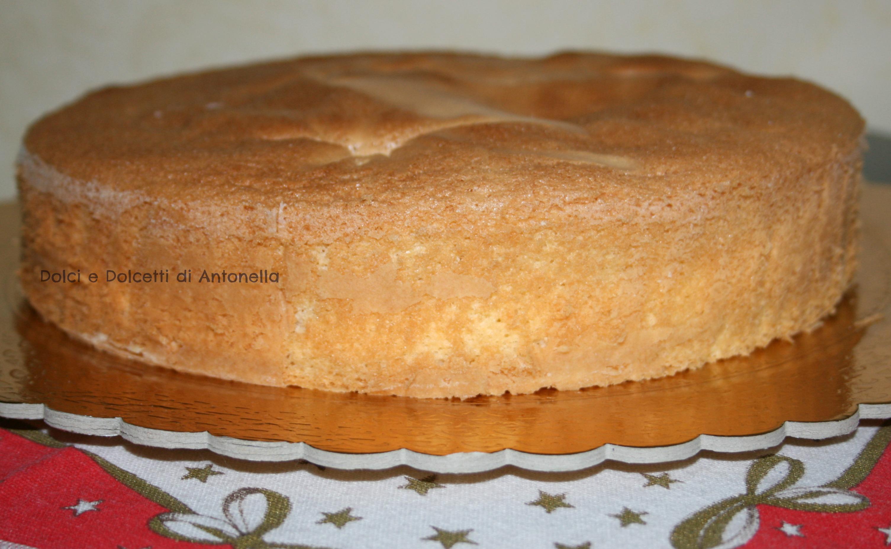 pan di spagna ricetta dolci e dolcetti di antonella