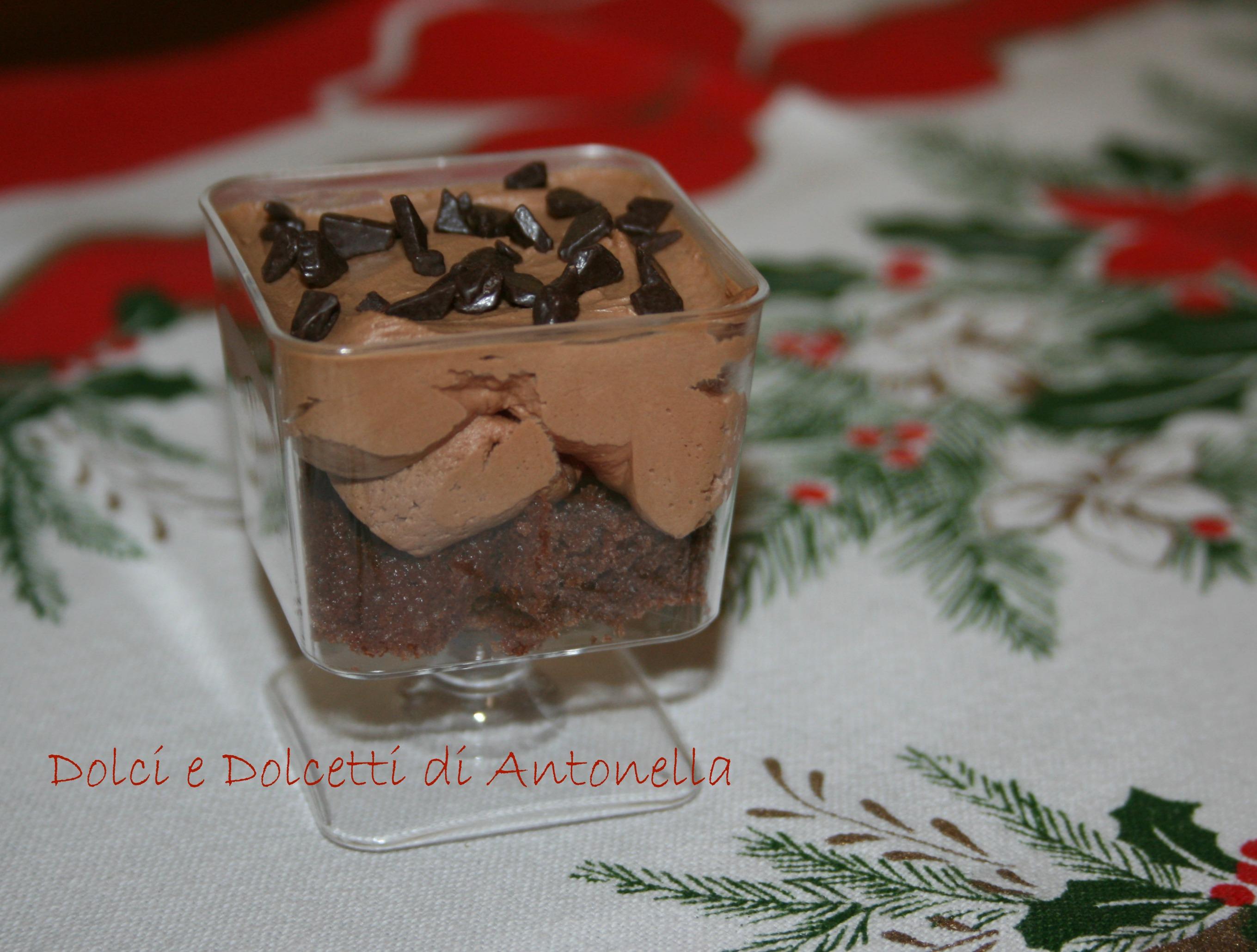 Top Mousse al cioccolato, Ricetta dolce senza forno | Dolci e Dolcetti  AF24