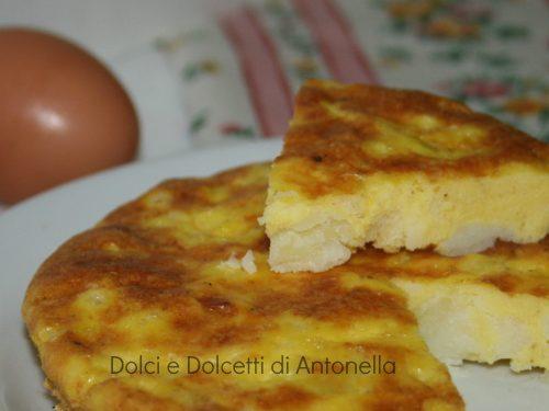 Frittata di patate al forno, Ricetta light