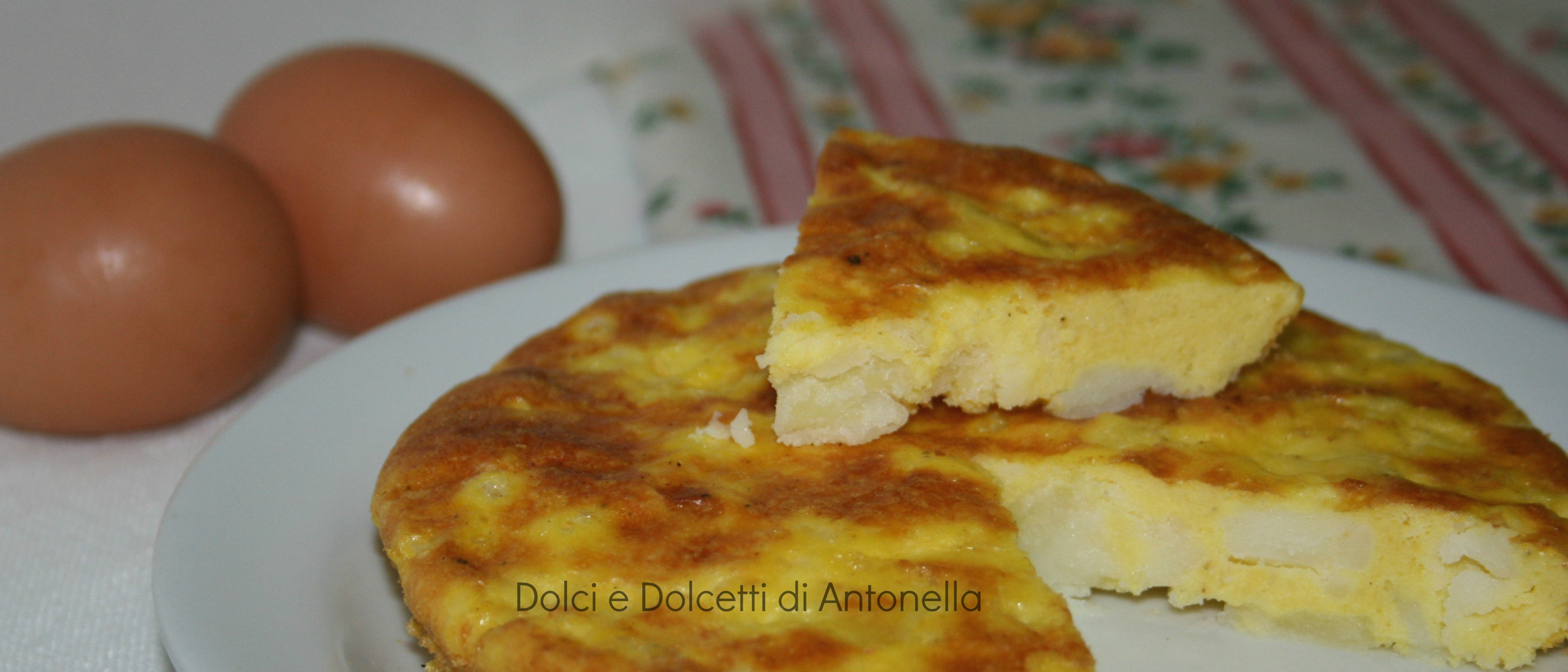 frittata di patate al forno  ricetta dolci e dolcetti di antonella