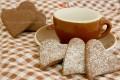 Biscotti al cioccolato colazione per San Valentino
