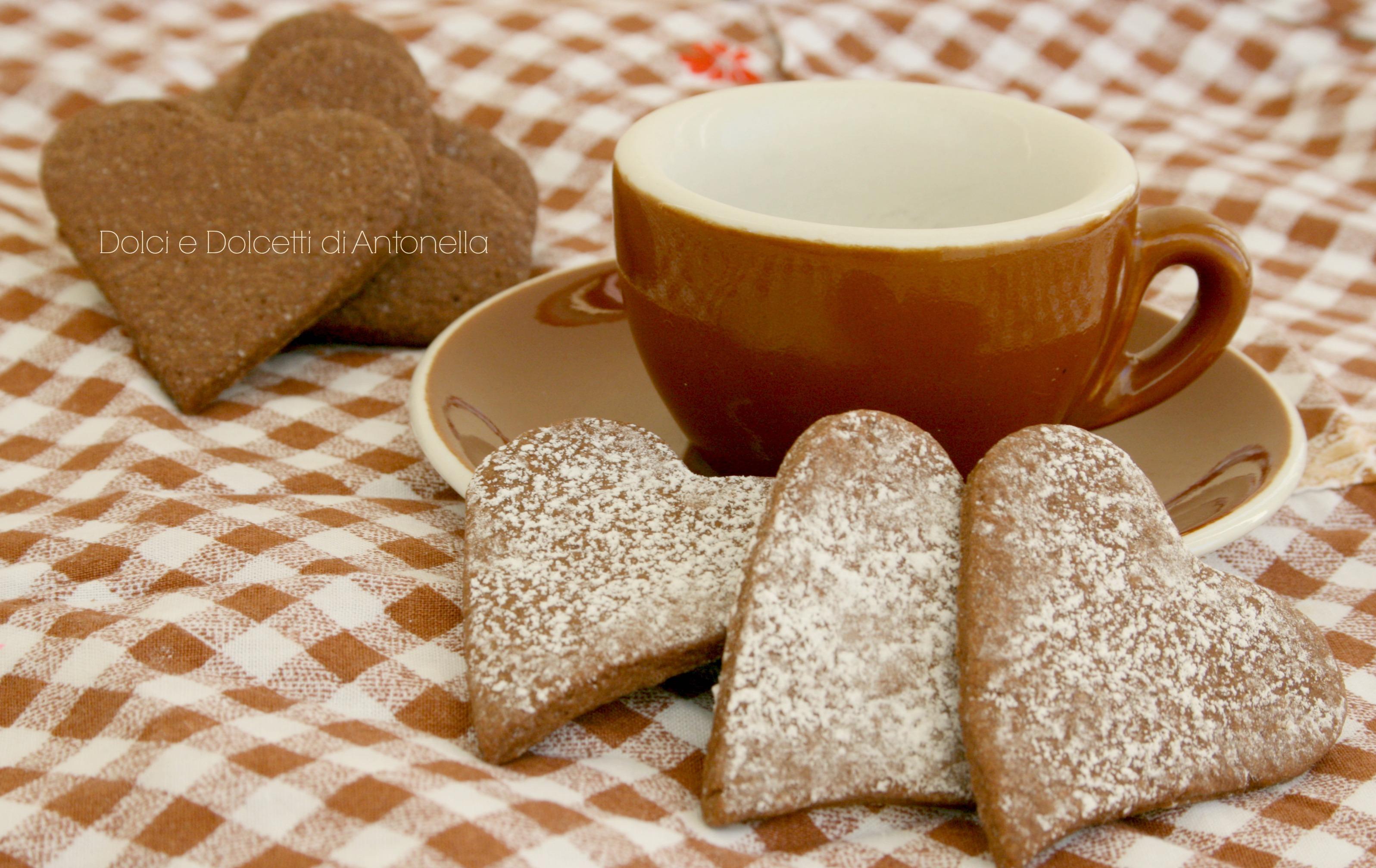 biscotti al cioccolato colazione san valentino dolci e dolcetti di antonella