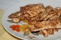 Bocconcini di pollo con spezie kebab