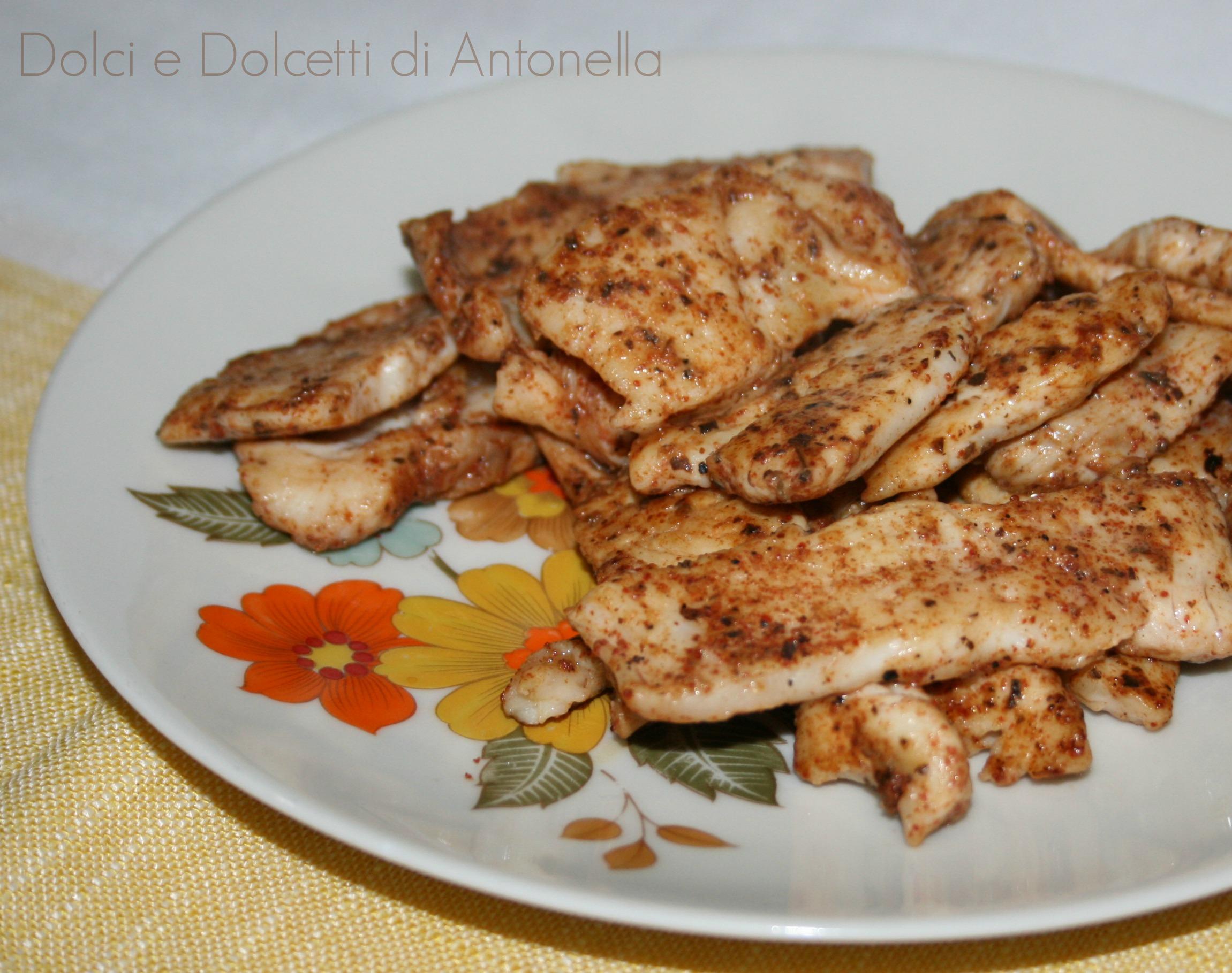 Ricetta Kebab Con Petto Di Pollo.Bocconcini Di Pollo Con Spezie Kebab Dolci E Dolcetti Di Antonella