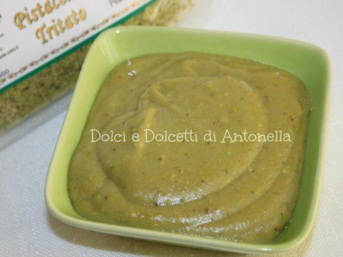 Crema pasticcera al pistacchio, Ricetta dolce
