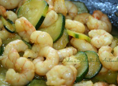 Condimento per pasta gamberetti e zucchine, Ricetta primi piatti