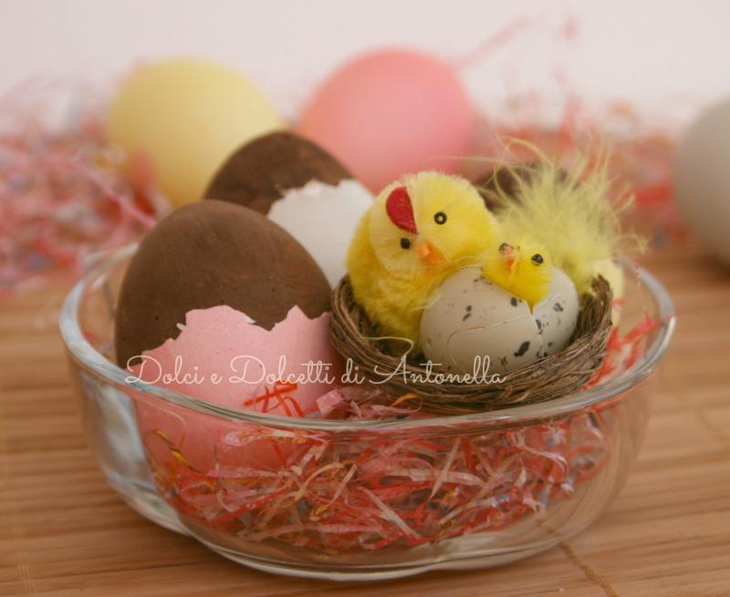 Uova di cioccolato ricetta di pasqua dolci e dolcetti - Uova di pasqua in casa ...