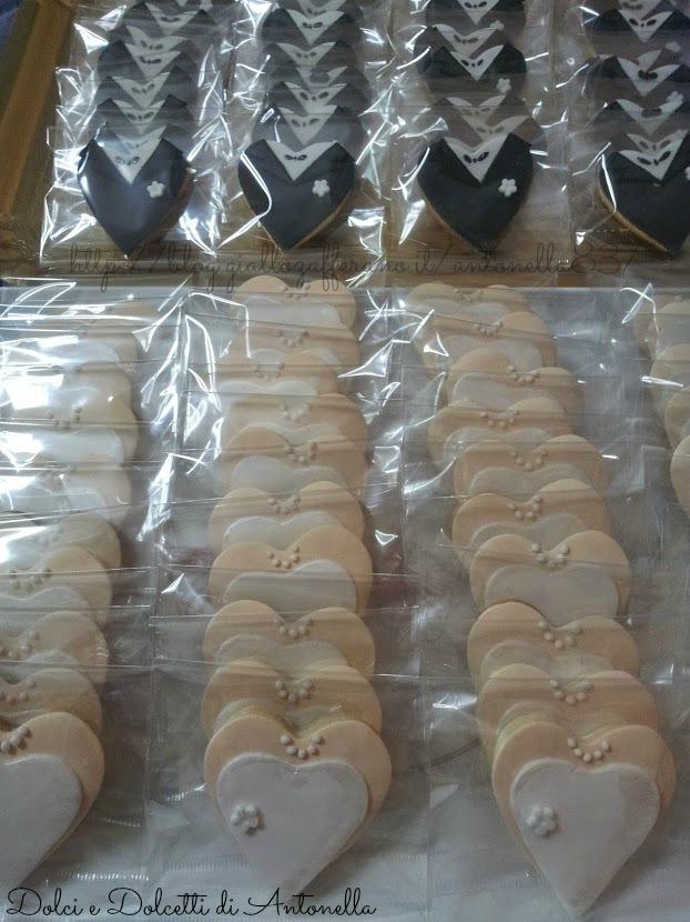 Estremamente Biscotti segnaposto per matrimonio | Dolci e Dolcetti di Antonella FV92