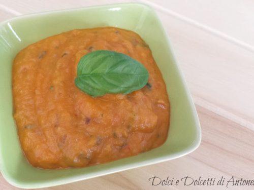 Pesto di pomodori e melanzane, Ricetta bimby