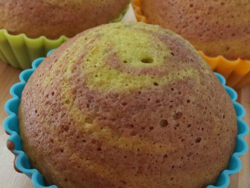 Cupcake pistacchio e cacao