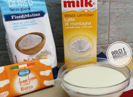 Besciamella senza lattosio e senza glutine, Ricetta bimby
