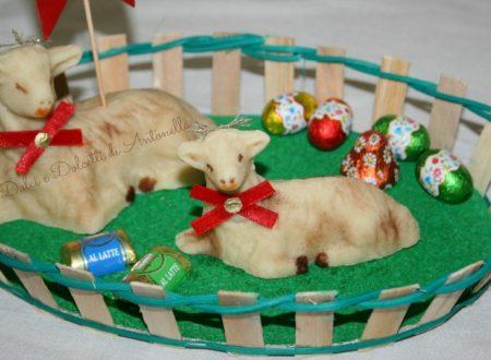Pecorelle in pasta di mandorle, Ricetta di Pasqua