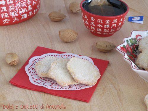 Biscotti alle mandorle, Ricetta Bimby