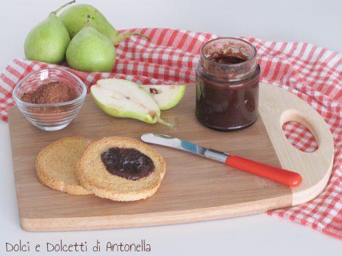 Marmellata pere e cacao, Ricetta Bimby