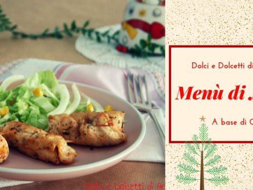 1° Menù di Natale a base di carne
