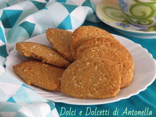Biscotti zenzero e miele, Ricetta Bimby
