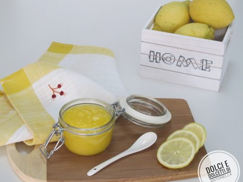 Crema lemon curd