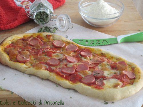 Pizza con farina di grani antichi di Sicilia