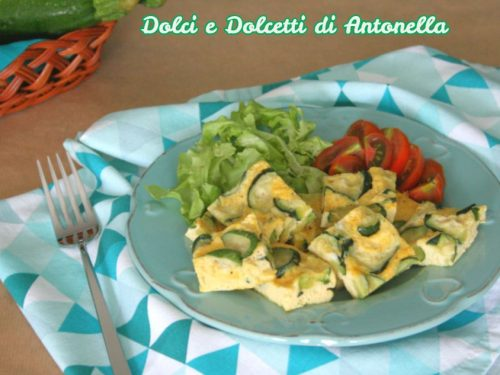 Frittata con zucchine light, Ricetta Bimby