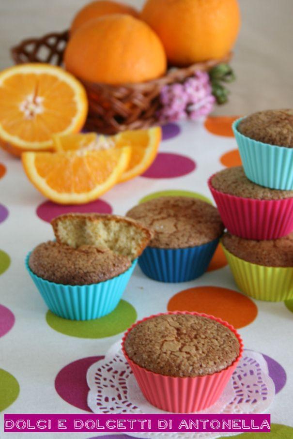 muffin integrali all'arancia
