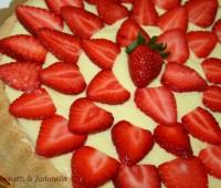 Crostata crema pasticcera e fragole, Ricetta dolce