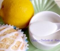 Glassa al limone, Ricetta dolce