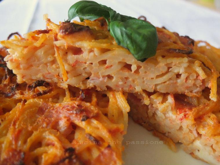 frittata di pasta blog cucina che passione di antonella