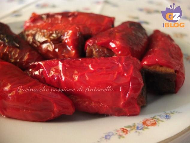 peperoni ripieni di mollica blog cucina che passione di antonella