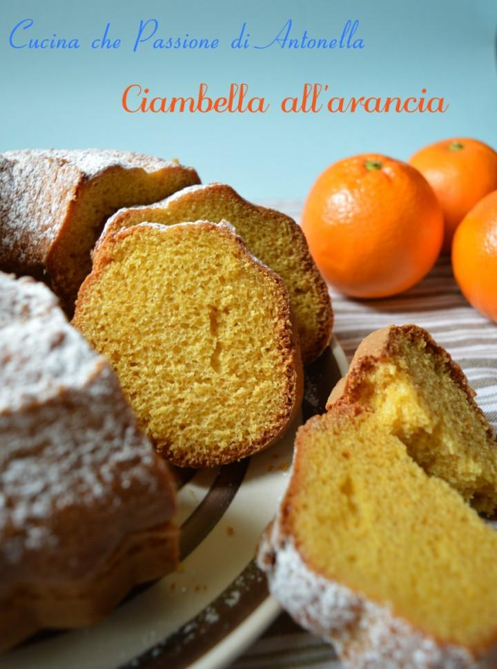 ciambella all arancia