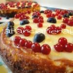 cheesecake frutti di bosco versione bimby a pancia piena