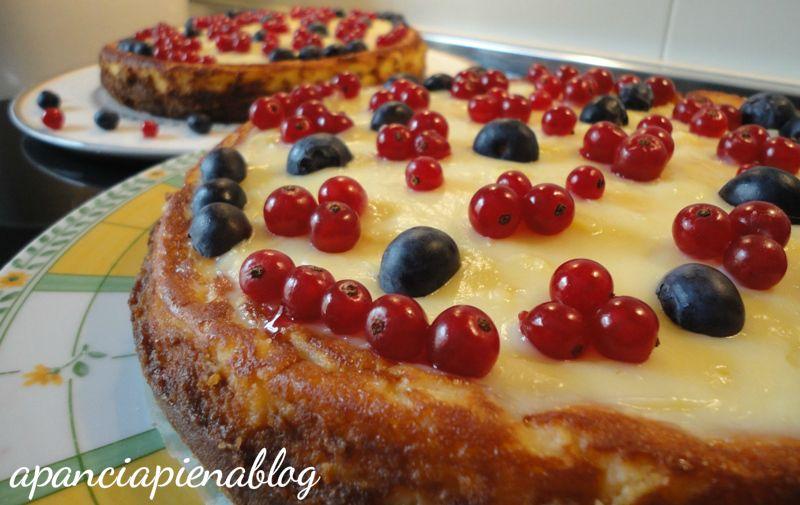 cheesecake frutti di bosco a pancia piena