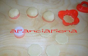 fiorellini di pasta frolla metodo semplice e veloce a pancia piena