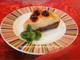 cheesecake all'amarena a pancia piena