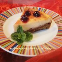 cheesecake all'amarena a pancia piena