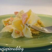pasta panna e salmone a pancia piena