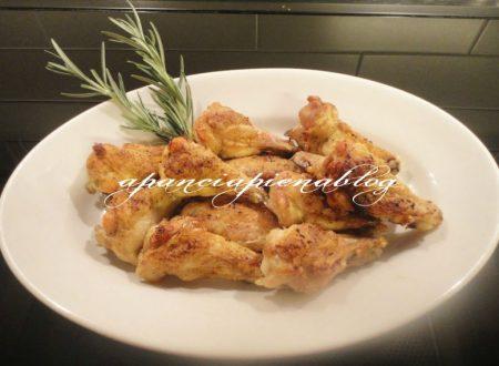 Alette di pollo al forno (ricetta light facile facile..)