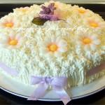 torta primavera(versione bimby) festa della mamma a pancia piena