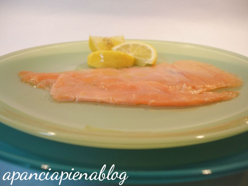salmone marinato a pancia piena