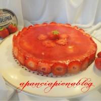 cheesecake alle fragole con philadelfia a pancia piena