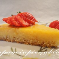 Crostata con crema al limone (versione tradizionale e Bimby)