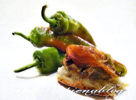 Friggitelli al forno (ricetta fingerfood)
