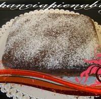 Torta nutella e mascarpone (senza uova)