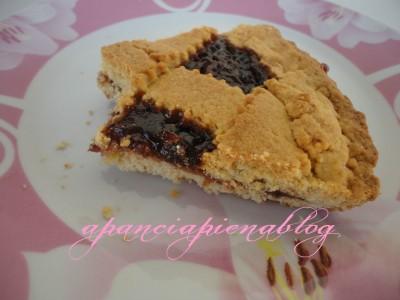 crostata con marmellata di fragole a pancia piena blog