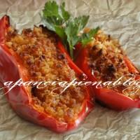 barchette di peperoni gratinati a pancia piena blog