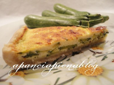 quiche di zucchine a pancia piena blog