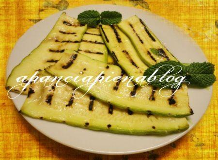 Zucchine marinate (ricetta light)